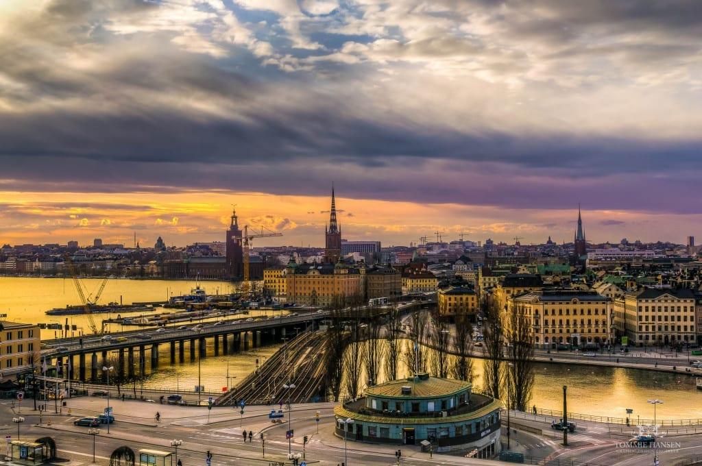 Slussen and Stockholm