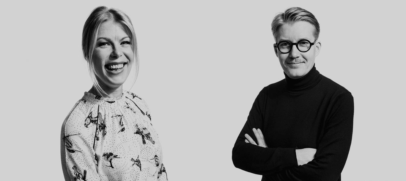 Tanja Ylikangas ja Olli-Pekka Koljonen