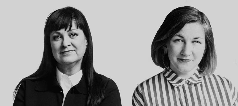 Marjaana Toiminen ja Anna Herlin