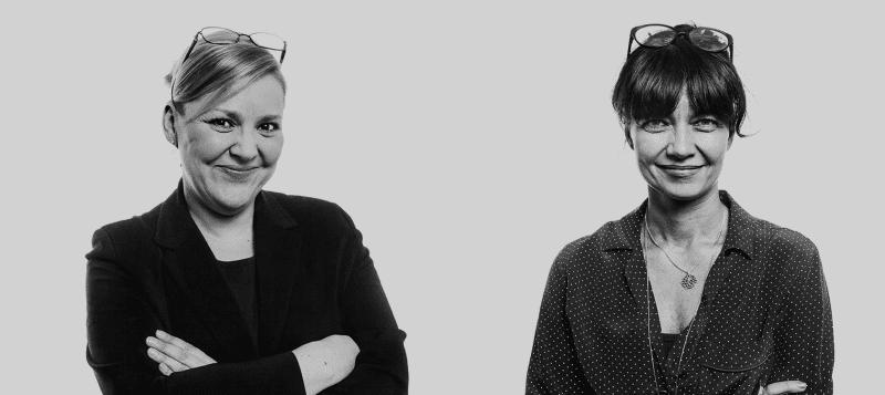 Taru Tujunen ja Kirsi Piha