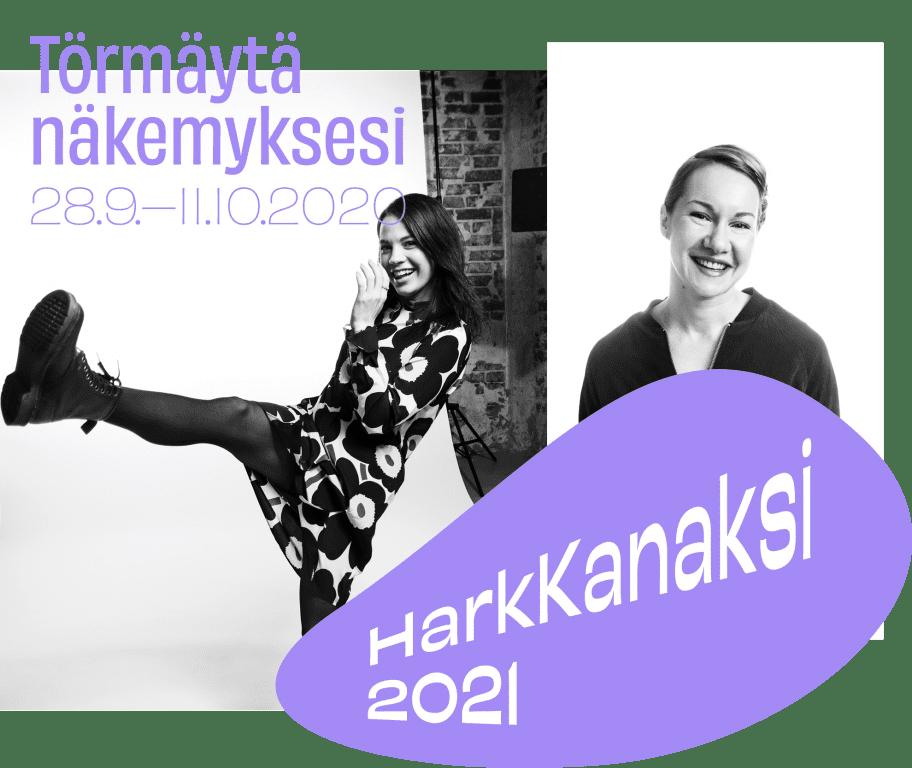 HarkKanaksi2021.Eveliina Pennanen ja Christa-Jemina Korhonen