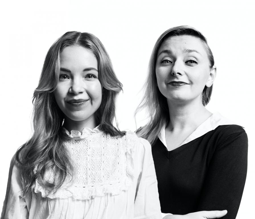 Pauliina Suominen ja Suvi Auvinen