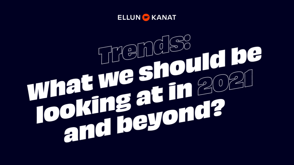 Link to open the trend list of 2021